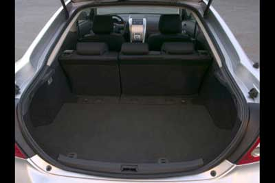 Scion tC Cargo Area