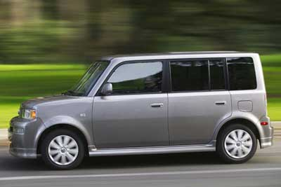 Scion xB Action
