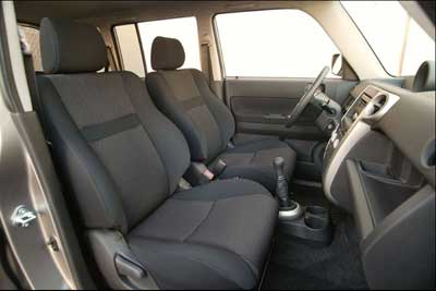 Scion xB Front Seats