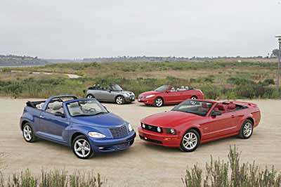 2005 Convertible Comparison Test