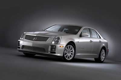 2006 Cadillac STS-V Photo Gallery