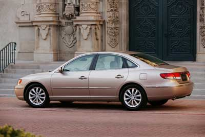 2006 Hyundai Azera Photo Gallery