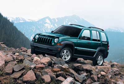 2005 Jeep Liberty CRD Quick Spin