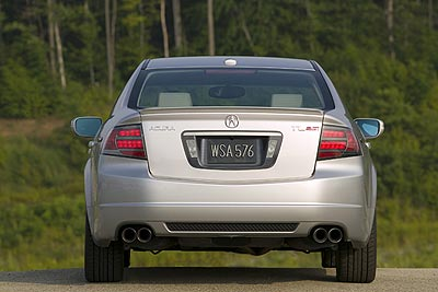 Acura TL Type-S  Comfort