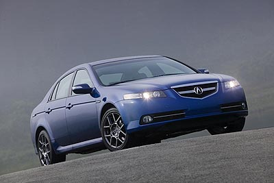 Acura TL Type-S  Exterior Design