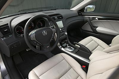 Acura TL Type-S  Interior Modifications