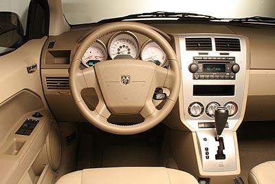 2007 Dodge Caliber Review 2007 Dodge Caliber Se Interior