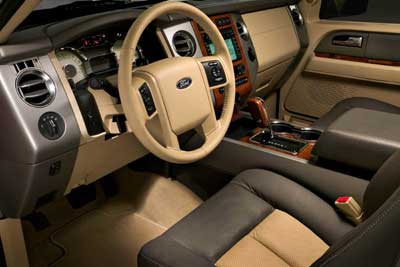 Ford Expedition – Interior Design