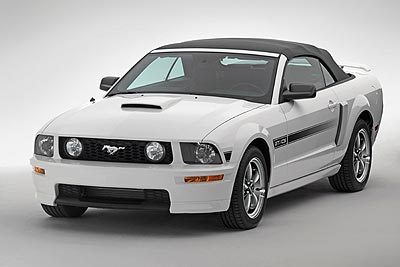 Current Ford Mustang Convertible
