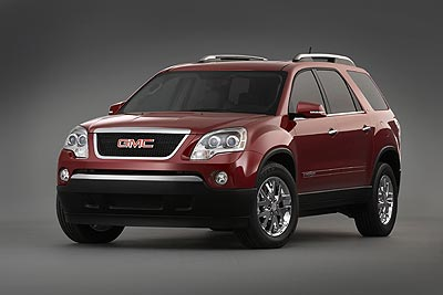 GMC Acadia: Introduction