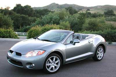2007 Mitsubishi Eclipse Spyder Review