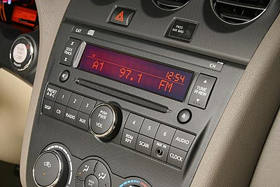 Infotainment Controls