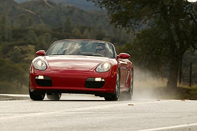 Porsche Boxster – Safety Systems