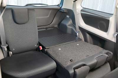 Rear seat features