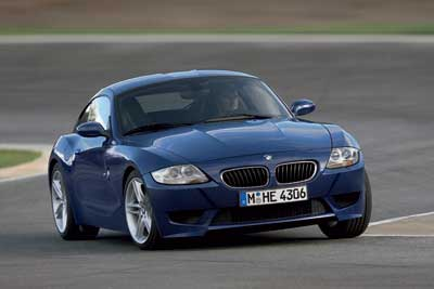 2007 BMW Z4 M Coupe Preview