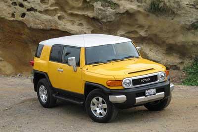 07 Toyota Fjcruiser 44
