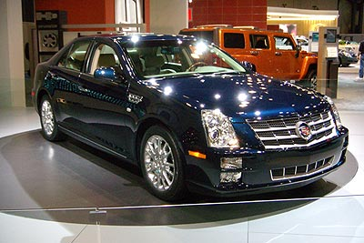 2008 Cadillac STS Preview