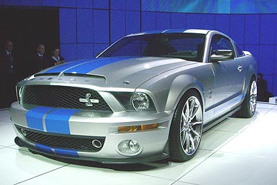 2008 Ford Shelby GT500KR Preview
