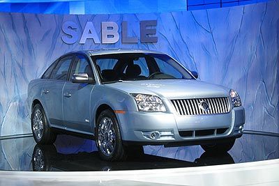 2008 Mercury Sable Preview
