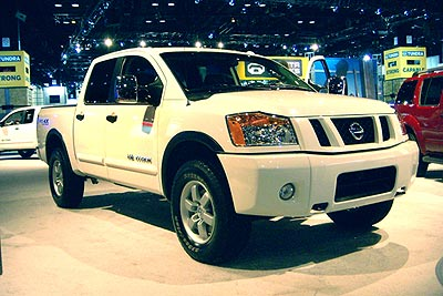2008 Nissan Titan Preview