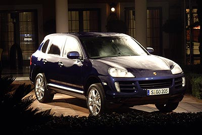 Porsche Cayenne S Specifications