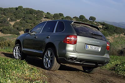 Porsche Cayenne Turbo Specifications