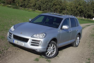 Porsche Cayenne Specifications