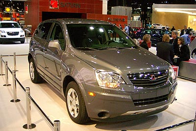 2008 Saturn Vue Green Line Preview