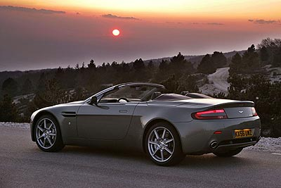 Aston Martin V8 Vantage Roadster: Best New Dream Car Over $75,000
