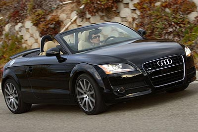 Audi TT Roadster Best New Convertible Under $75,000