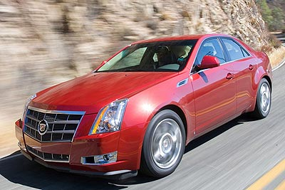 Cadillac CTS: 2008 Car of the Year