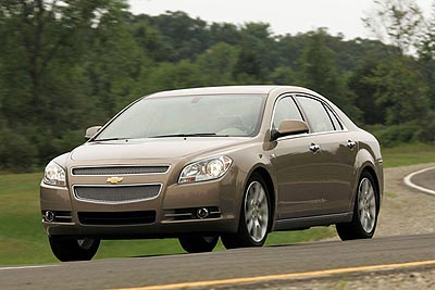 Chevrolet Malibu: Best New Midsize Car