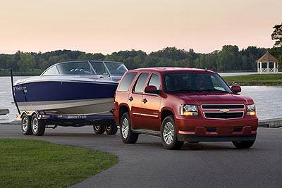 Chevrolet Tahoe Hybrid/GMC Yukon Hybrid: 2008 Hybrid of the Year
