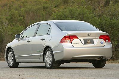 Honda Civic GX Best Non-Hybrid for the Environment