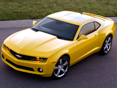 Officially Unveiled: 2010 Chevrolet Camaro