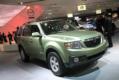 2008 Mazda Tribute Hybrid Preview