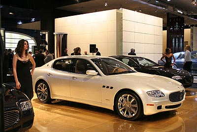 2007 maserati quattroporte automatic sport gt. Black Bedroom Furniture Sets. Home Design Ideas