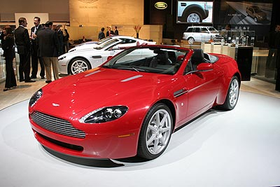 2007 Aston Martin V-8 Vantage Roadster Preview