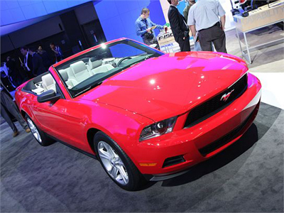 Convertible Mania at the 2008 L.A. Auto Show