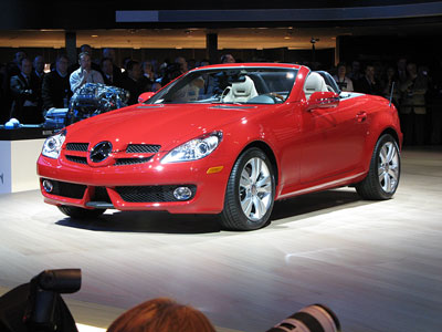 2008 Detroit Auto Show: 2009 Mercedes-Benz SLK