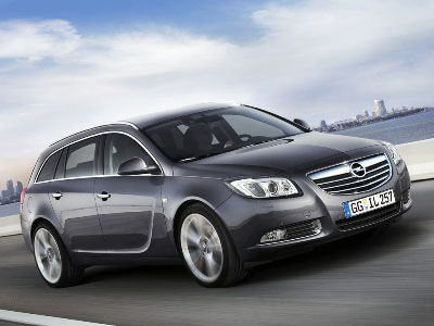 2008 Paris Auto Show: 2010 Vauxhall Insignia Sports Tourer