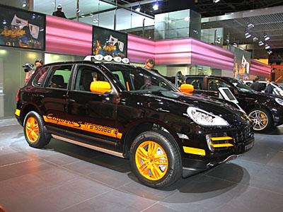 2008 Paris Auto Show: 2010 Porsche Cayenne S Transsyberia