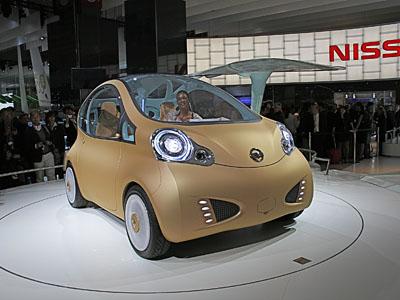 2008 Paris Auto Show: Nissan Nuvu Concept