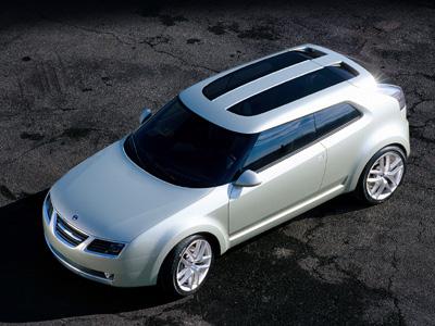 2008 Paris Auto Show: Saab 9-X Air BioHybrid