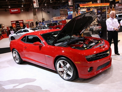 Chevy Camaro Show Cars at the 2008 SEMA Show