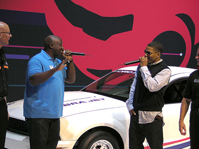 Celebrities at the 2008 SEMA Show