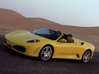 2005 Ferrari F430 Spyder Preview