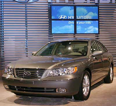 2006 Hyundai Azera Preview