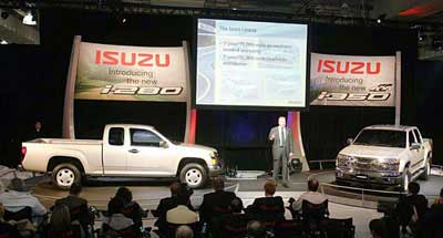 2005 Isuzu i-280 and i-350 Pickup Preview