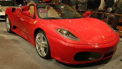 2005 Ferrari F430 Spider Preview